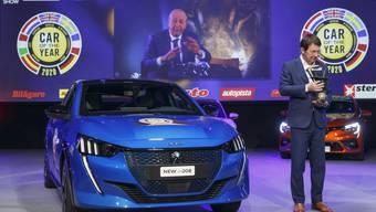 """Auch die Preisverleihung für das """"Auto des Jahres 2020"""" am Autosalon Genf musste dieses Jahr hinter geschlossenen Türen stattfinden."""