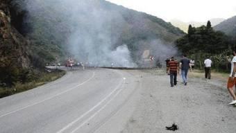 Raketeneinschlag im Süden der Türkei