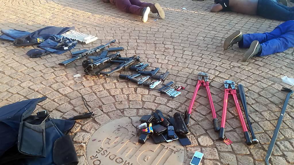 Tote und Verletzte nach Schüssen an einer Kirche in Johannesburg