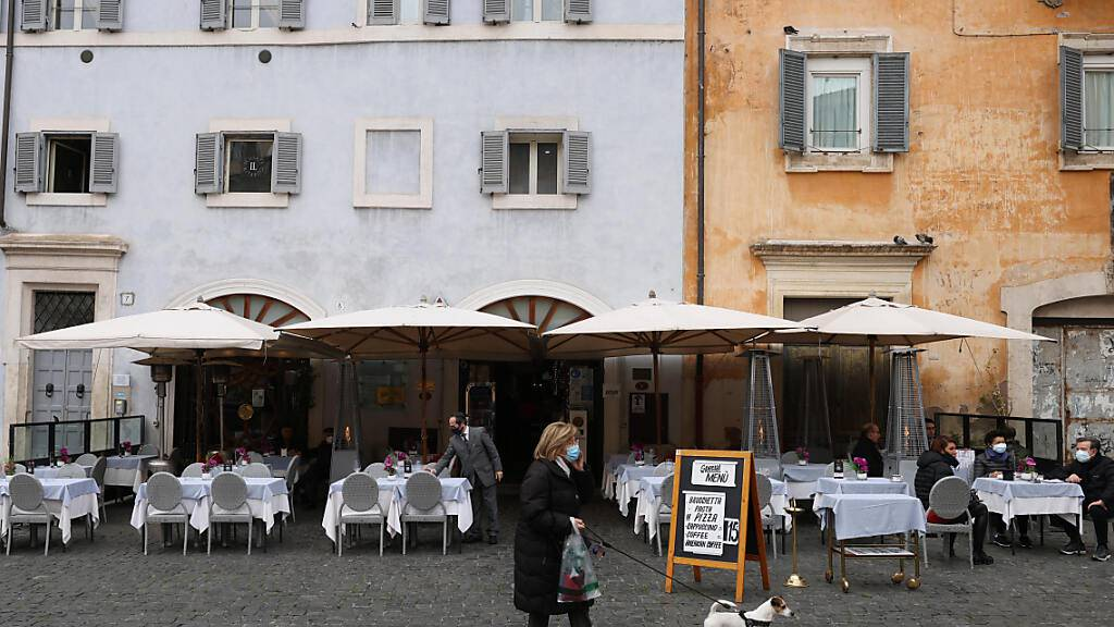 Italien lockert ab Montag Corona-Regeln in vielen Regionen
