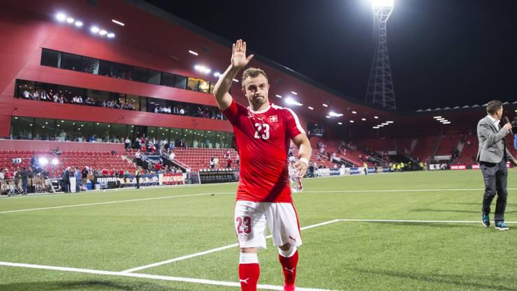 Gehörte beim 1:0 gegen Weissrussland zu den auffälligsten Schweizer Spielern: Xherdan Shaqiri