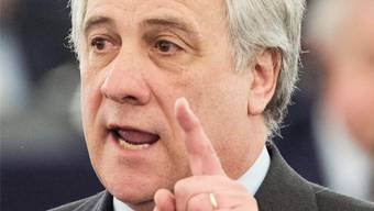 Der Italiener Antonio Tajani ist neuer EU-Parlamentspräsident.