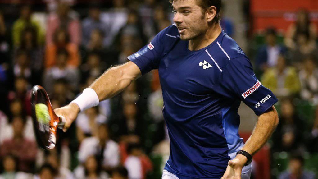 Stan Wawrinka war gegen Rafael Nadal ohne Chance