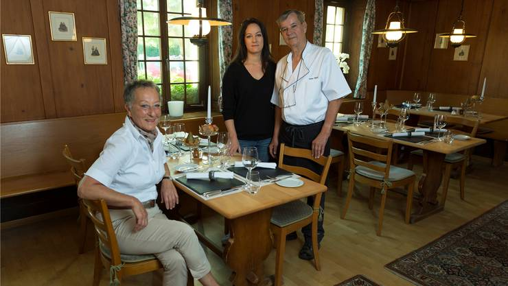 Lucia Meier, Tochter Stephanie und Peter Meier (von links) können weiter auf ihre treuen Gäste zählen. Alex Spichale