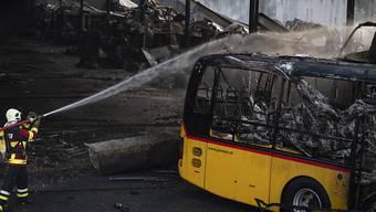 Der Grossbrand am Mittwochabend letzter Woche richtete richtete einen Gesamtschaden von rund 10 Millionen Franken an.  (Archivbild).