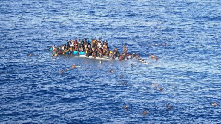 Die Todesrate auf dem Mittelmeer steigt massiv.