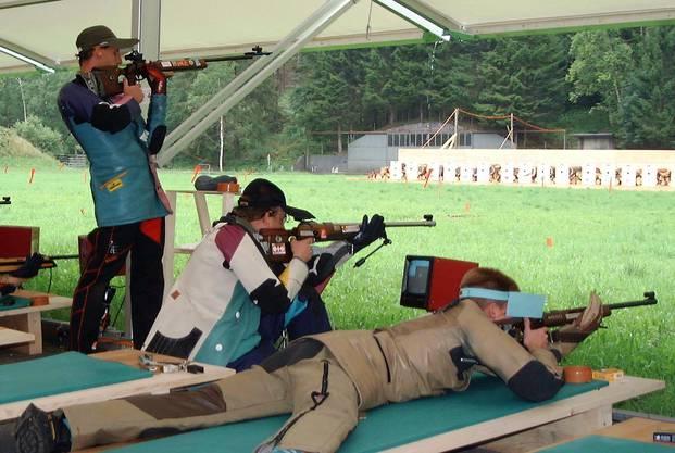 Dreistellungsschiessen als Königsdisziplin mit dem Gewehr