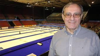 OK-Chef Bruno Schallberger zieht ein positives Fazit der Curling-WM in Basel.
