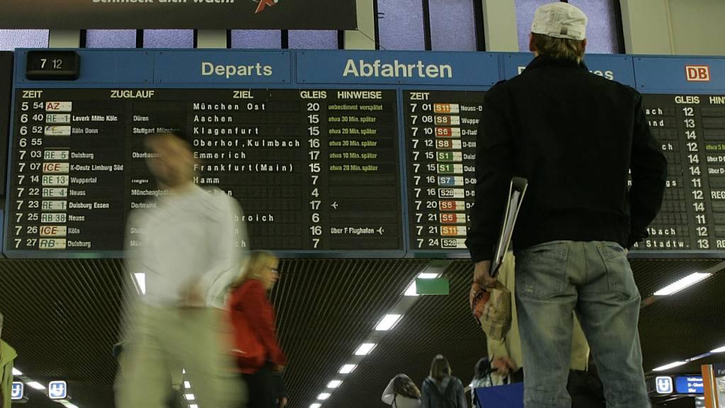 Bund wird über Vorschläge für mehr Pünktlichkeit befinden