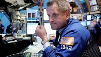 Ein Händler an der NYSE (Archiv)