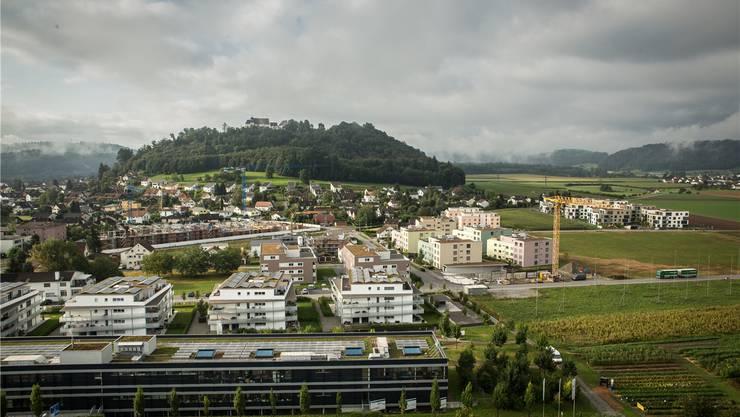 Im Gebiet Esterli-Flöösch entstehen 500 neue Wohnungen.