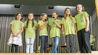 Hier feierten Kinder aus Densbüren und der «Schürmatt»gemeinsamdenSchulstart.