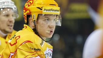 Der Finne Toni Rajala schoss beim Heimsieg des EHC Biel gegen die ZSC Lions zwei Tore