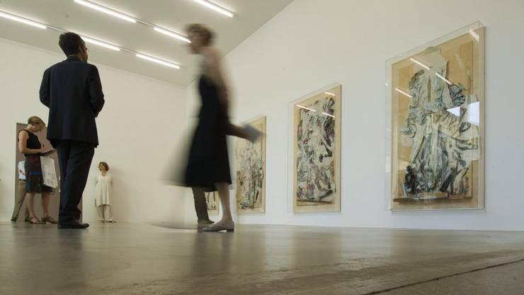 41 Kulturprojekte erhalten im 4. Quartal 2018 einen Beitrag aus dem Swisslos-Fonds – so auch das Aargauer Kunsthaus.