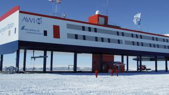 Auch auf der deutschen Forschungsstation Neumayer in der Antarktis streikten die Forscherinnen und Forscher. (Archivbild)