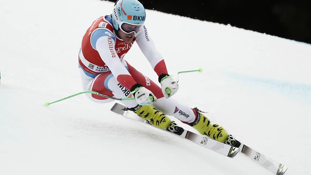 Stefan Rogentin war im ersten Training der bestklassierte Schweizer