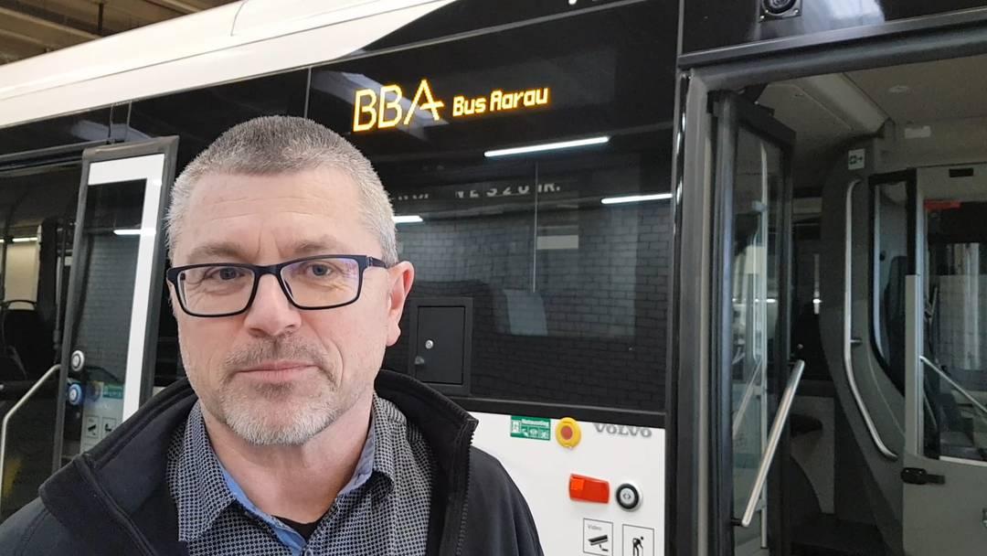 Video-Interview mit Peter Baertschiger, Geschäftsführer der Busbetrieb Aarau AG, über die BBA-Massnahmen zum Corona-Virus.