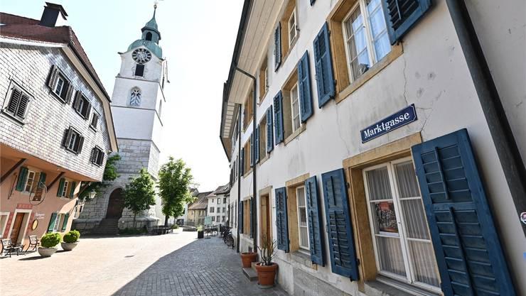 Marktgasse 27: Oltens Bürgerschaft hat einem Sanierungskredit über 1,6 Mio. Franken zugestimmt. Bruno Kisslung