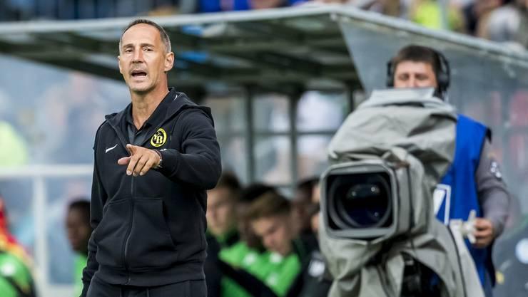 Steht mit seiner Mannschaft im Final des Uhrencups: YB-Trainer Adi Hütter.