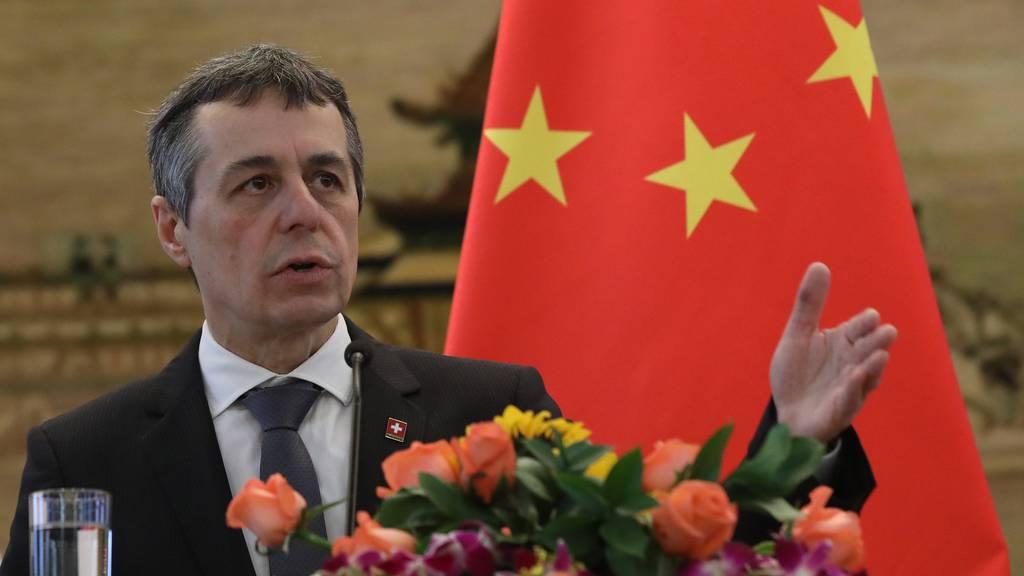 Schweizer Politiker stehen hinter Kritik von Ignazio Cassis