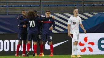 Die Schweizer mit Miro Muheim gaben im letzten Spiel der EM-Qualifikation erstmals Punkte ab