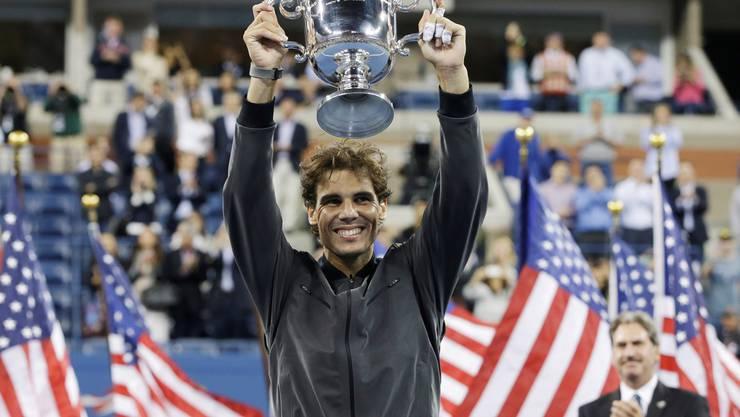 Kommt als grosser Sieg von New York nach Basel. Er ist hier die Nummer 1. Er will Novak Djokovic im ATP-Ranking überholen.