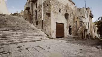 Poggioreale auf Sizilien: seit dem 14. Januar 1968 verlassen.