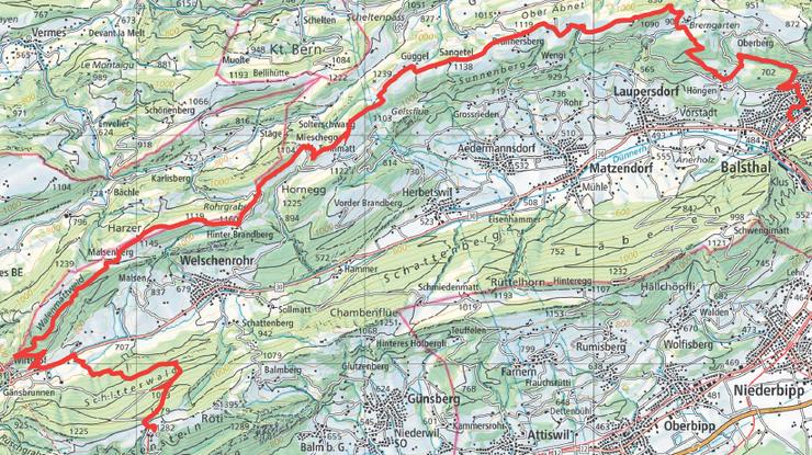 Die Mountainbikeroute vom Weissenstein nach Balsthal konnte nach einem längeren Planungsprozess mit breit abgestützter Mitwirkung vor wenigen Tagen eröffnet werden.