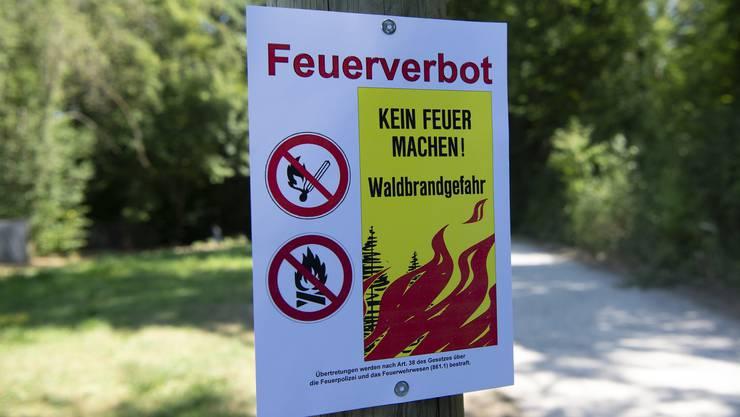 Feuerverbot in Liestal. (Arrchivbild)