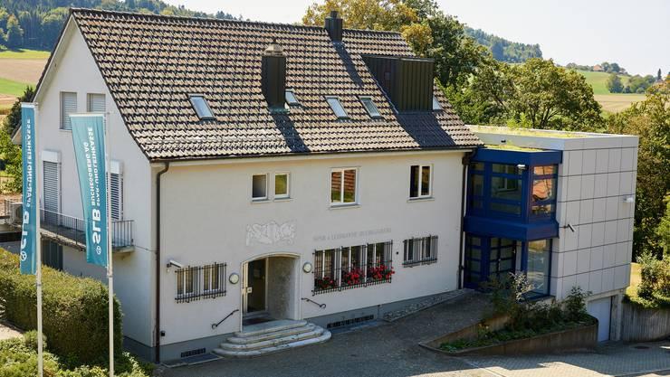 Die Spar- und Leihkasse Bucheggberg in Lüterswil.