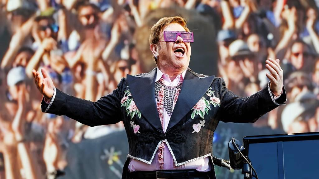 Elton John auf Abschiedstournee in Zürich