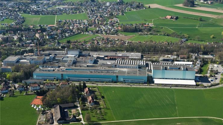 Basler Immobilienentwickler wollen das riesige Areal der Papierfabrik in Biberist mit Leben füllen. Simon Dietiker