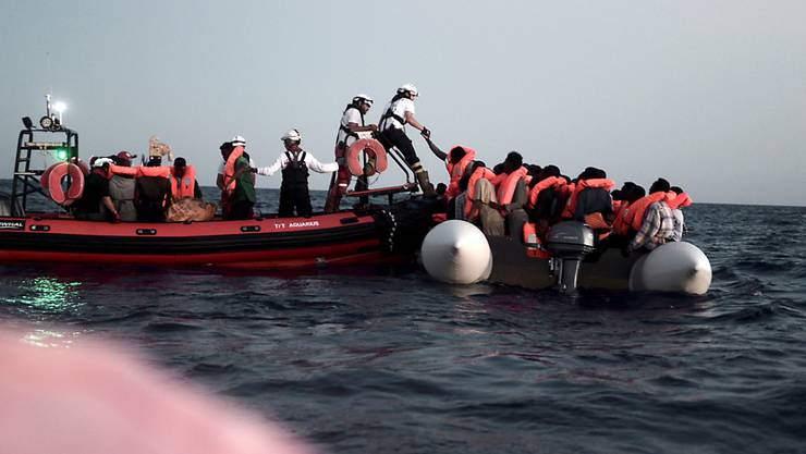 2018 sind laut Uno im Mittelmeer über 2200 Flüchtlinge gestorben. (Archivbild)