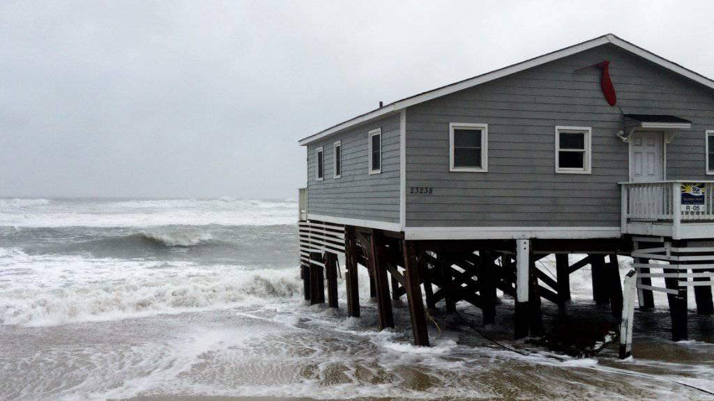 An der US-Ostküste werden wegen «Maria» Sturmfluten erwartet.