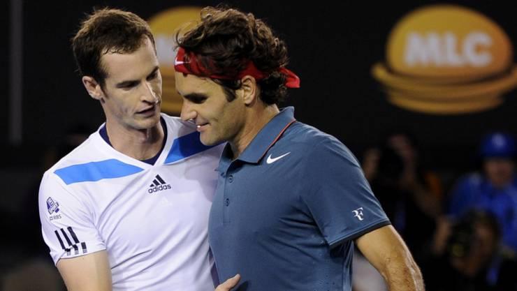 Roger Federer und Co. standen Murray während Jahren vor der Sonne.