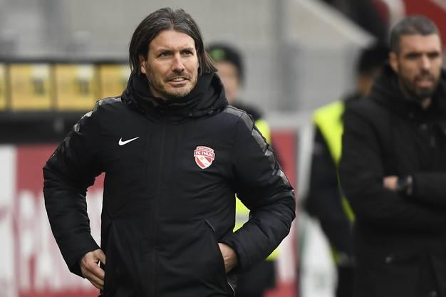 Andres Gerber ist die einzige Konstante beim FC Thun.