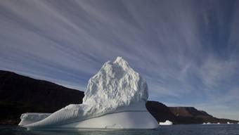 Das arktische Eis ist 2012 besonders schnell geschmolzen (Archiv)