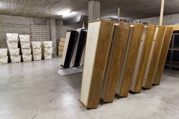 Eine grosse Auswahl verbirgt sich im Gebäude an der Saumstrasse.