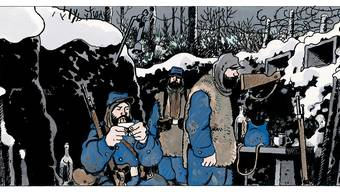 Jacques Tardi im Cartoonmuseum