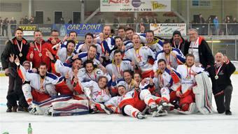 Eben noch Meister der Zentralschweizer 1.-Liga-Gruppe, jetzt vor dem freiwilligen Rückzug: Der EHC Zuchwil Regio