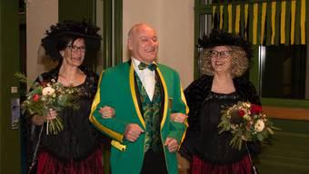 «Mäni de Amme» freut sich, dass er im Jubiläumsjahr der Heuröpfler das Amt des Zunftmeisters ausüben darf.