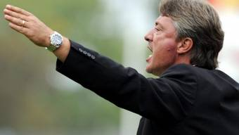 Lugano-Trainer Marco Schällibaum machte seinem Ärger Luft