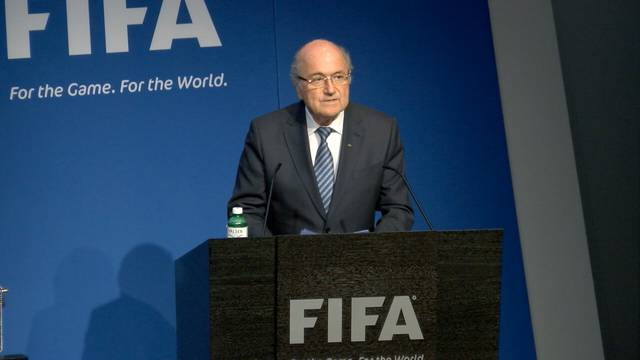 Sepp Blatter tritt zurück: Das gibt der Fifa-Präsident an einer kurzfristig einberufenen Medienkonferenz am Dienstag bekannt.