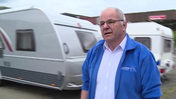 Bereits fünf Wohnwagen in Bad Zurzach geklaut