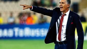 Carlos Queiroz dirigiert die Iraner Richtung WM 2018 in Russland