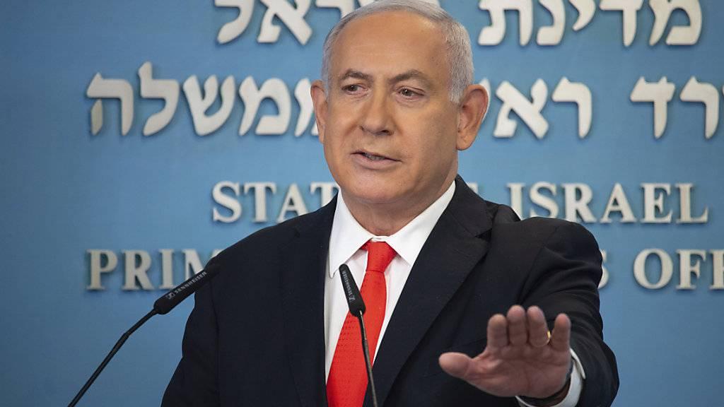 Netanjahu: Israels Corona-Lockdown wird für zwei Wochen verschärft
