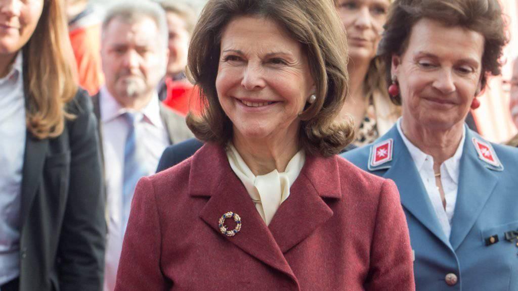 Königin Silvia von Schweden ist viel an Wohltätigkeitsveranstaltungen unterwegs und hat nur wenig Zeit für ihre Enkel. (Archivbild)