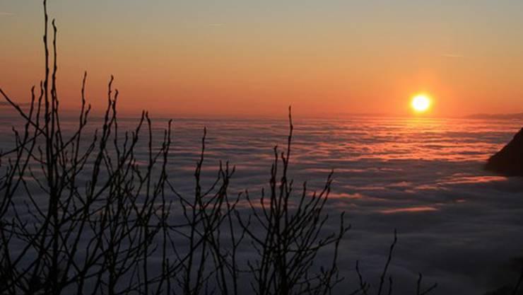 Abschied oder Neuanfang? Sonnenuntergang, z. B.  auf der Bettlerchuchi.Urs Schaffner
