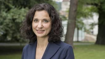 Gabriela Suter, Präsidentin der SP Aargau.
