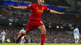 Steven Gerrard schoss Liverpool zum Sieg.